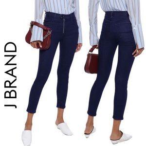 NWT J. Brand Alana High-Rise Crop Skinny Jeans